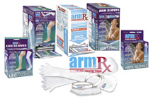 ArmRX Water Protective Arm and Leg Gloves