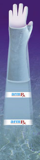 ArmRx water protection gloves